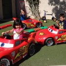 Lightning McQueen Power Wheels Donated to Local Nonprofits
