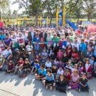 Designed By Kids, Built By Volunteers: Disney, City of Anaheim, Anaheim Family YMCA and KaBoom! Build New Playground for Children in Anaheim