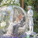 Cast Members Help Make Cinderella's Crystal Coach Accessible to  Guests with Mobility Disabilities