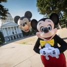 """Mickey Mouse Arrives in Sacramento, June 1 Proclaimed """"Disneyland Day"""" at California State Capitol"""