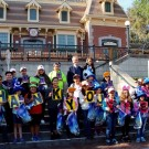 Local Children Enjoy Private Book Reading, Day at the Disneyland Resort