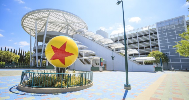 Pixar Pals Parking Structure Opens, Pedestrian Bridge Over Magic Way Coming Soon