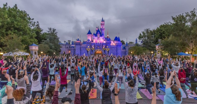 Namaste! Disney Cast Members Celebrate International Yoga Day Around the World