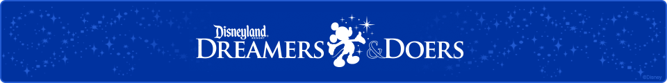 Disneyland Resort Dreamers & Doers (Button)