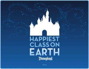 Happiest Class on Earth logo with castle
