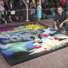 Disneyland Resort Donates Unique Chalk Art to Autism Speaks